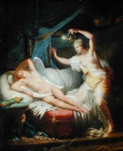 Cupidon et Psyché - Jean-Baptiste Regnault