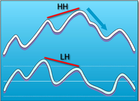 grade11-blue-regular-bearish-divergence