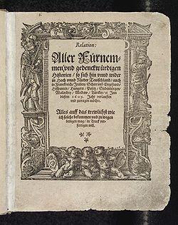 presse ecrite 1609