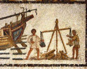 matières premières antiquité
